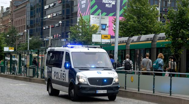 Police shoot and arrest suspected knifeman in Finland attack