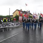 The loyalist parade through Rasharkin passed without incident. PICTURE MATT BOHILL PACEMAKER PRESS