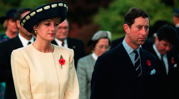 Royal saga: Charles and Diana led an unhappy marriage. Photo: Martin Keene/PA Wire