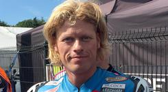 PACEMAKER, BELFAST, 10/8/2017: Gavin Lupton who has died after being seriously injured in a crash during the Dundrod 150 National race at the Ulster Grand Prix last week.