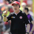 Uncertain future: Mickey Harte and the Tyrone board are at an impasse over an extension to the manager's contract