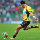 Relishing it: Christian Leali'ifano can't wait to get to work in front of the Kingspan crowd