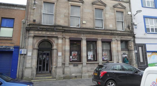 First Trust Bank's former Strabane branch