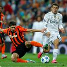 Real Madrid's Mateo Kovacic (right) is reportedly open to a move to Liverpool.