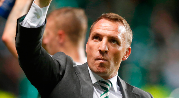 Brendan Rodgers saw his side concede four goals against Astana.