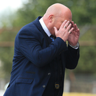 Bally bad show: I guess that's why they call it the Sky Blues for David Jeffrey. Photo: David Maginnis/Pacemaker