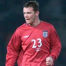 Fresh faced: Rooney made his England debut in February 2003. Photo: Tom Hevezi/PA