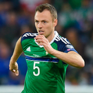 City target: Jonny Evans. Photo: Charles McQuillan/Getty Images