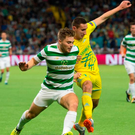 Reality check: James Forrest admitted Celtic's defeat to Astana was a wake-up call ahead of their Champions League journey