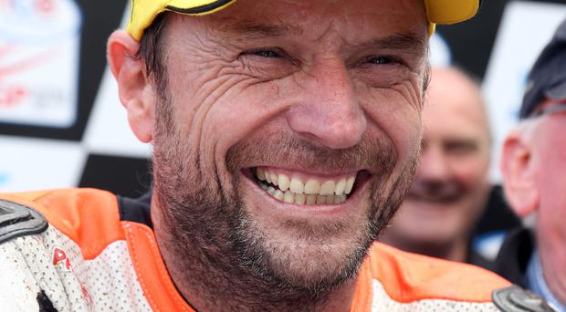 Quick lap: Bruce Anstey was fastest on the YZR 500 Yamaha. Photo: Pacemaker