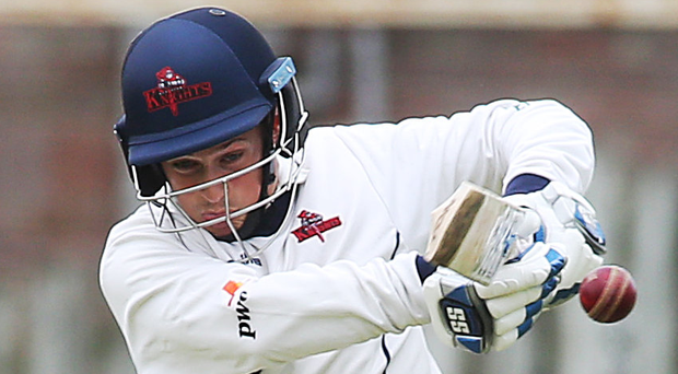 In the runs: James McCollum returns to a full-strength Waringstown line-up