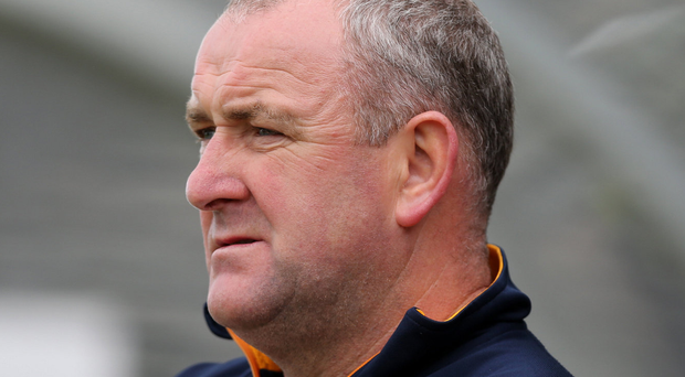 Dropping out: Antrim's Frank Fitzsimmons