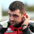 Struggles: Michael Dunlop had an off night on the Isle of Man