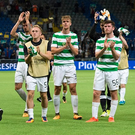 European odyssey: Celtic may have lost in Astana but they are through once again to the lucrative Champions League group stage