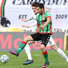 Tough challenge: Curtis Allen (pictured) and Glentoran face Gary Hamilton's free-scoring Glenavon in tonight's big match