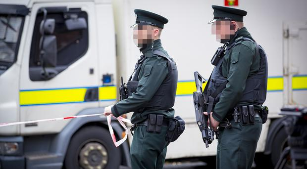 Police and Army at the scene of a security alert after a suspected pipe bomb is discovered in the Little George's Street area of Belfast on August 25th 2017 (Photo by Kevin Scott / Belfast Telegraph)