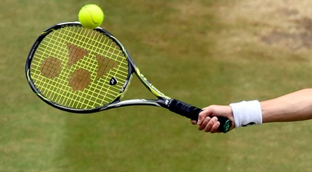 Bradley Yates triumphed in a tough match at the Ulster Junior Hardcourt Championship at Windsor yesterday (stock photo)