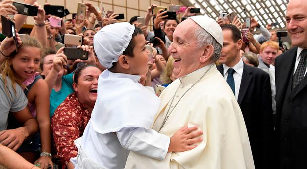 Fresh thinking: Pope Francis is facing criticism from theologians as he attempts reform in the Catholic Church