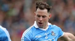Intensity: Philly McMahon will be vital in the Dublin defence. Photo: Ryan Byrne/INPHO