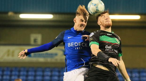 Michael Donnelly had been attending a game between Glentoran and Glenavon.