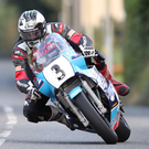Classic show: Michael Dunlop in action on the Isle of Man last night. Photo: Pacemaker