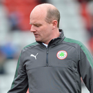 Tough to watch: Reds boss Barry Gray criticised his team