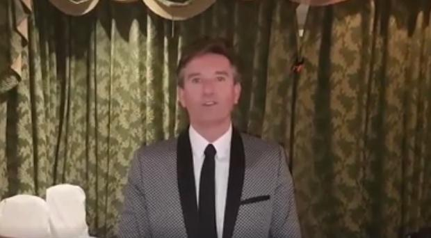 Daniel O'Donnell announces charity gig on Facebook