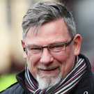 Main man: Craig Levein has taken over the reins at Hearts