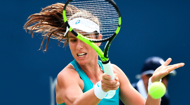 Johanna Konta Knocked Out By Aleksandra Krunic In First Round
