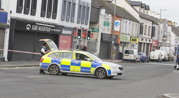 A number of homes were evacuated following a gas leak in Newtownards, County Down. Pic PressEye