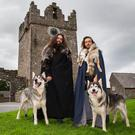 Sunday Life travelled to Winterfell Castle to meet Odin and Thor (brothers named after the Old Viking Gods) who played Summer & Grey Wind in HBO hit series,