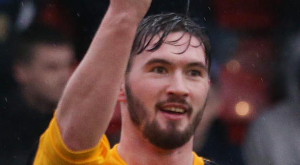 Michael McLellan struck twice for Ards