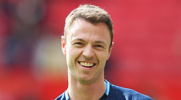 Northern Ireland defender Jonny Evans. Photo: Alex Livesey/Getty Images