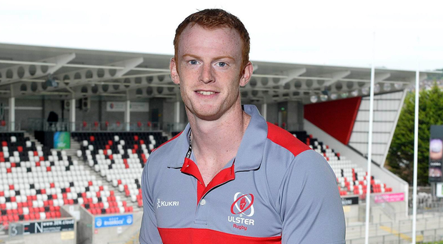 Ready to go: Ulster Rugby's Peter Nelson at Kingspan Stadium ahead of the Toyota Cheetahs Guinness PRO14 game on Friday. Photo: Cameron Hamilton/Presseye