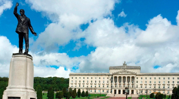 Stormont is without power