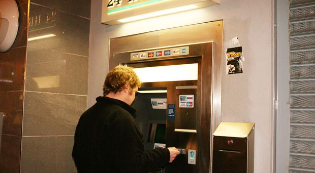 The Bank of Ireland is planning to phase out the Irish language options on its ATMs