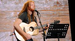 Giant strides: Newton Faulkner is back with Hit The Ground Running