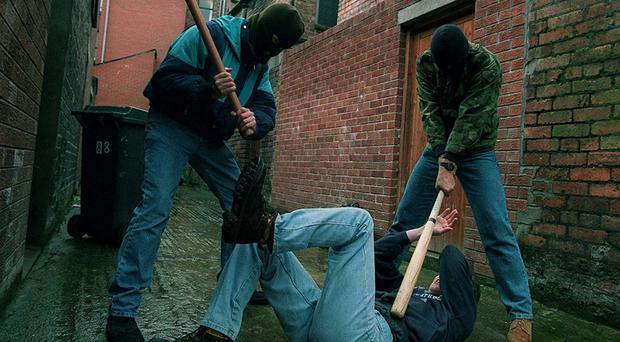 The photograph carried in this newspaper today of members of an unnamed paramilitary group which has issued threats against alleged drug dealers in the Omagh area would be laughable if history did not teach us that such warnings can have a chilling outcome. (stock photo)