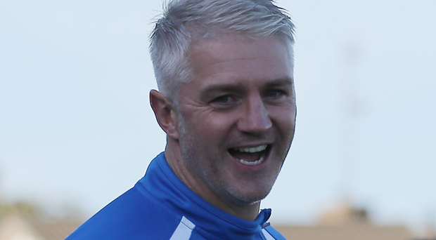On the right track: Assistant William Murphy believes Coleraine can enjoy a fruitful season