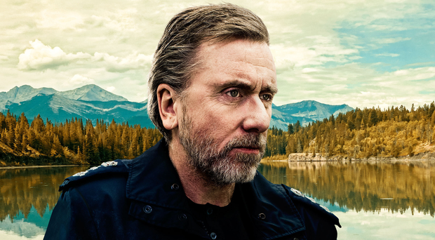 Mountain man: Tim Roth as Jim Worth, a police officer seeking a new start with his family in Tin Star