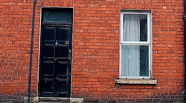 The house in Lurgan is in a rundown state