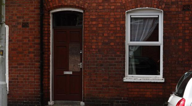 Arsonists targeted a house in Belfast's Broadway area on Friday, September1.