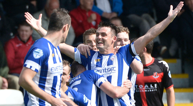 Coleraine have already won at Seaview this season.