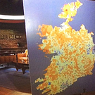 How RTE presented the island of Ireland for a segment on the Late Late Show.