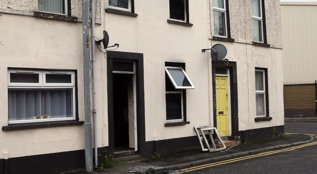 Police are investigating the incident as an arson attack. Pic: Freddie Parkinson / PressEye