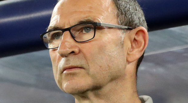 Under pressure: Martin O'Neill. Photo: Ryan Byrne/INPHO