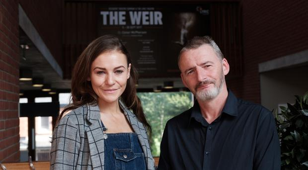 Kerri Quinn and Frankie McCafferty star in The Weir