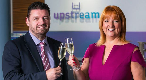 Judith Totten, managing director, and Alan Wardlow, head of new business at Upstream