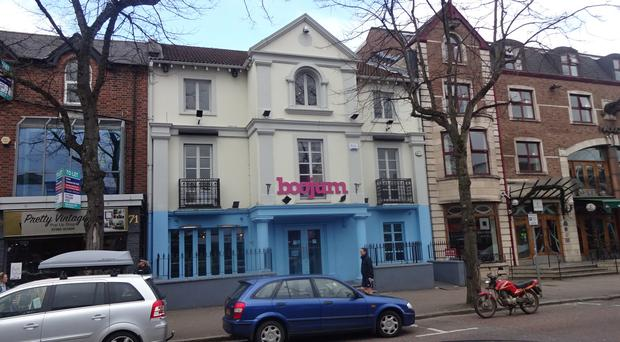 The three-storey building which houses Boojum on Botanic Avenue in Belfast has been sold by Osborne King