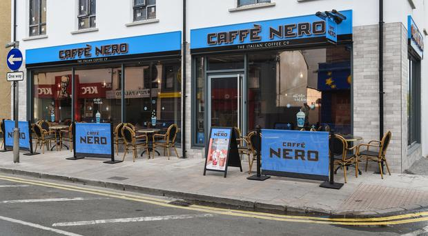 The building which is home to Caffe Nero in Newcastle is up for sale